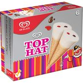 Glass Top Hat 6-pack GB Glace