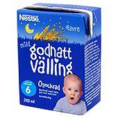 Godnatt Havrevälling Mild Drickfärdig 6M 200ml Nestle