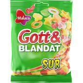 Gott & Blandat Surt 170g Malaco