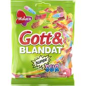 Gott&Blandat Supersur 170g Malaco