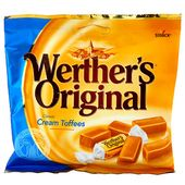 Gräddkola Cream Toffees 135g Werthers