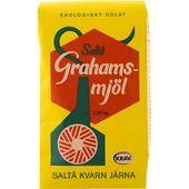Grahamsmjöl Eko 1,25kg Saltå Kvarn