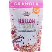 Granola Hallon & Vanilj 400g Clean Eating