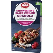 Granola Strawberry & Black Currant 475g AXA