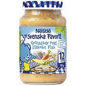 Grönsaker med Dillkokt fisk 12mån 195g Nestlé