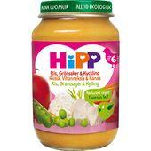 Grönsaker och Kyckling 6mån Ekologisk 190g Hipp