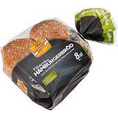 Hamburgerbröd Grovt 8-pack 480g Korvbrödsbagarn