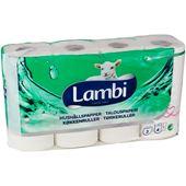 Hushållspapper 3-skikt dekor 4-p Lambi