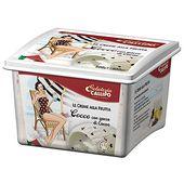 Italiensk Kokosglass med Chokladdroppar 900ml Callipo