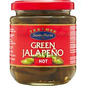 Jalapeno hot green 215g Santa Maria