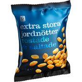 Jordnötter Extra Stora 275g Garant