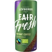 Kaffe Instant Fair Fresh EKO Fairtrade 100g Löfbergs