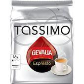 Kaffe Tassimo Espresso 128g Gevalia