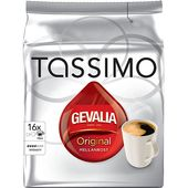 Kaffe Tassimo Original Mellanrost 136g Gevalia