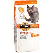 Kattmat Fågel&Anka 1kg Smart Pets