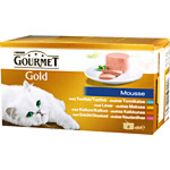 Gold Mousse 4-p 340g Gourmet Gold