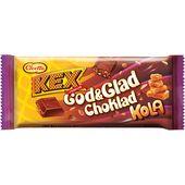 Kexchoklad God&Glad Chokladkola 75g Cloetta