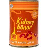 Kidneybönor Burk Eko 400g Saltå Kvarn