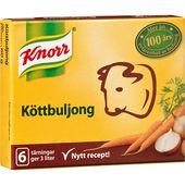 Köttbuljong 6x0,5L 60g Knorr