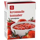 Krossade Tomater 390g Garant