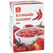 Krossade Tomater Chili 390g Garant