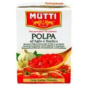Krossade Tomater med Vitlök370g Mutti