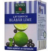 Lättdryck blåbär/lime koncentrat 2dl Kiviks
