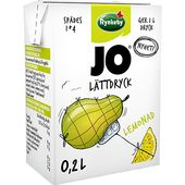 Lättdryck Lemonad Päron/Citron 2dl JO