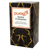 Te Licorice & Cinnamon EKO 20-p Pukka Herbs