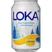 Loka Citron Flak 24x33cl