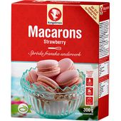 Macarons Strawberry Mix 300g Kungsörnen