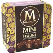 Magnum Mini Chocolate Hazelnut Praliné 6-p GB Glace