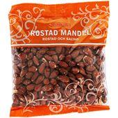 Mandel Rostade&Salt 400g Eldorado