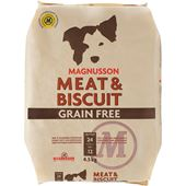Meat & Biscuit Grain Free 4,5kg Magnusson