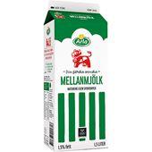 Mellanmjölk 1,5% 1,5l Arla