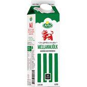 Mellanmjölk 1,5% 1l Arla