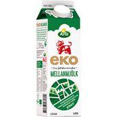 Mellanmjölk Ekologisk 1,5% 1l Arla