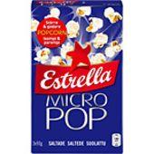 Micropop Saltade 3x90g Estrella