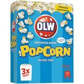 Micropopcorn naturella 3x100g Olw