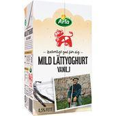Mild Lättyoghurt Vanilj 0,5% 1l Arla