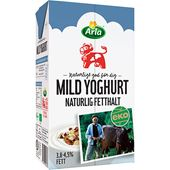 Mild Yoghurt Naturell Ekologisk 1L Arla
