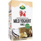 Mild Yoghurt Vanilj Ekologisk 2% 1L Arla