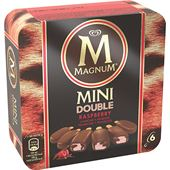 Mini Double Raspberry 6-p GB Glace