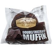 Muffin Double Chocolate Fryst 102g AuntMabel