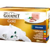 Gold Mousse 12x85g Gourmet