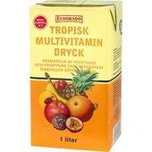 Multivitamindryck Tropisk 1L Eldorado