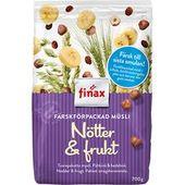 Müsli Nötter & Frukt 700g Finax