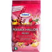 Müsli Persika/Hallon 625 g Frebaco