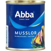 Musslor i vatten 225g Abba