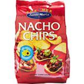 Nacho Tortilla Chips 200g Santa Maria